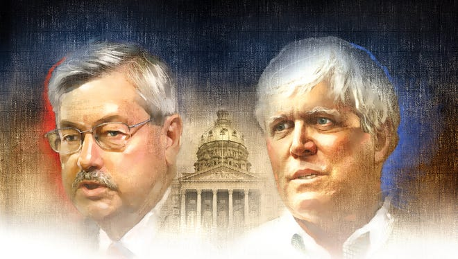 The Des Moines Register editorial board declines to endorse Terry Branstad, left, or Jack Hatch for governor.