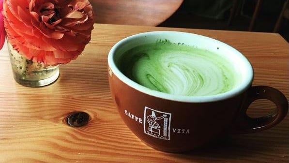 """A """"wellness"""" latte."""