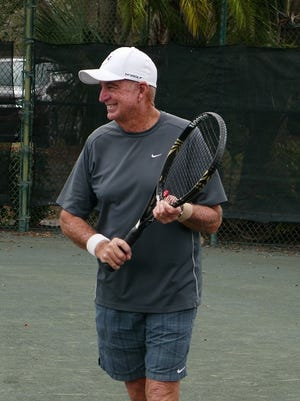Glenn Gollnick has been the head tennis professional at the Meadowood Golf and Tennis Club for the last 26 years.