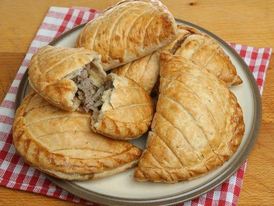 Cornish pasties from Australian Bakery in Scottsdale.
