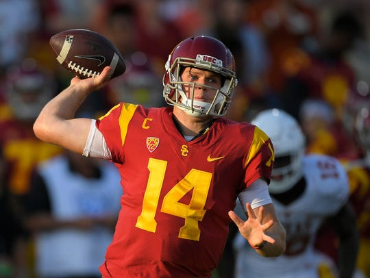 Sam Darnold of USC is a potential Heisman candidate