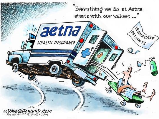 Aetna versus Obamacare patients