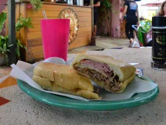 Havana Café's Cuban sandwich.