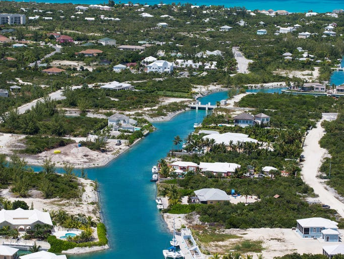 The Turks & Caicos islands were first visited by Europeans