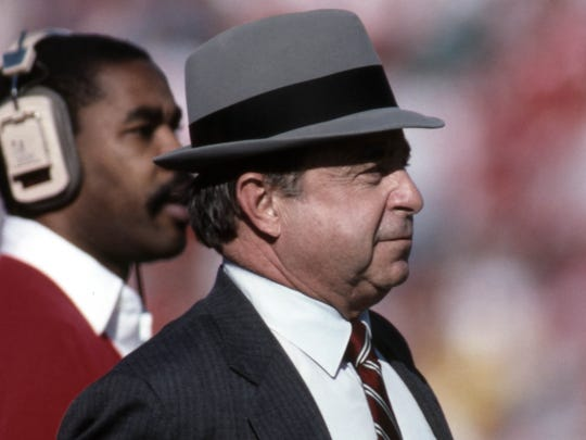 Former Iowa State coach Earle Bruce suffered a mild