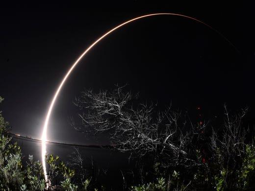 A United Launch Alliance Atlas V rocket explodes