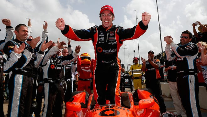 Simon Pagenaud joins an already vaunted lineup at Team Penske for the 2015 IndyCar season.