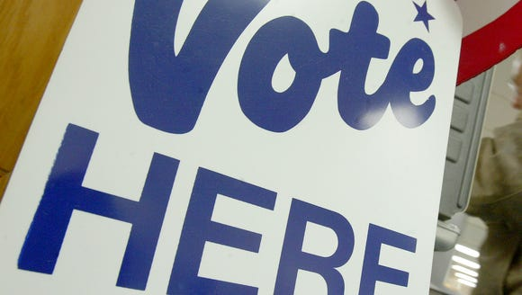 Election Day is Nov. 8, when polls will be open from