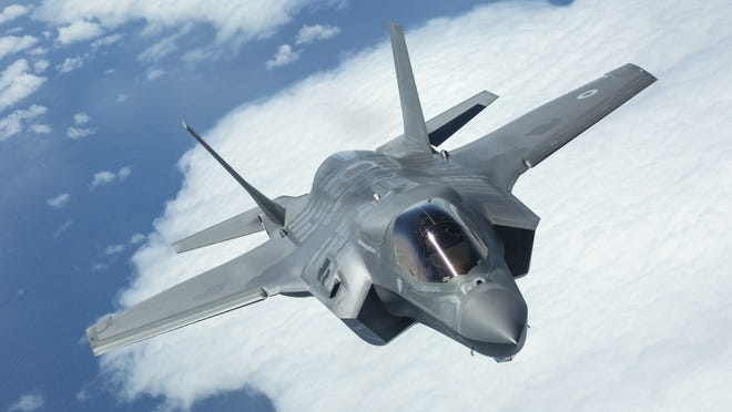 F-35B Lightning fighter jets are expected to fly out of Fort Smith's Ebbing Air National Guard Base by the year 2026 following the base being named the preferred site for a future multi-national training site. A squadron of F-16 fighter jets from Singapore is expected to arrive at Ebbing in 2023.