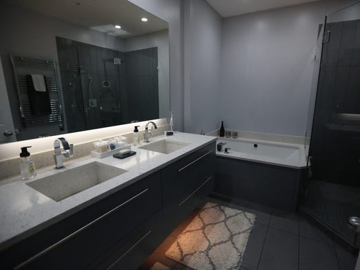 Tour Modern contemporary condo remodel in downtown D M