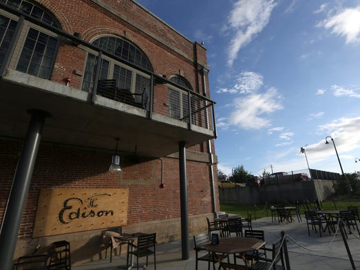 Cascades Park in downtown Tallahassee boasts a sprawling