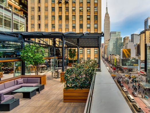 Rooftop restaurants and bars for 70 park terrace east new york ny