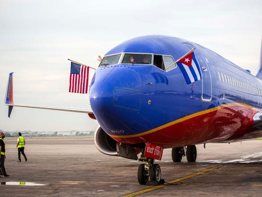 Southwest Drops Two Routes To Cuba Havana Flights To Stay - Southwest flight map us