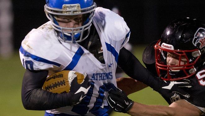 Follow live high school football updates.