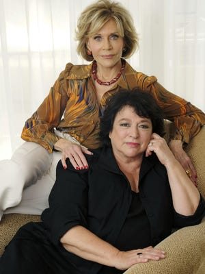 "Actress Jane Fonda, left, is the focus of and Susan Lacy is the director of the documentary ""Jane Fonda in Five Acts."""