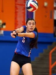 Central's Analisa Rios had a team-high 21 digs in the Lady Cats' 25-22, 25-23, 25-18 District 2-6A win on the road against Odessa Permian on Tuesday, Sept. 26.