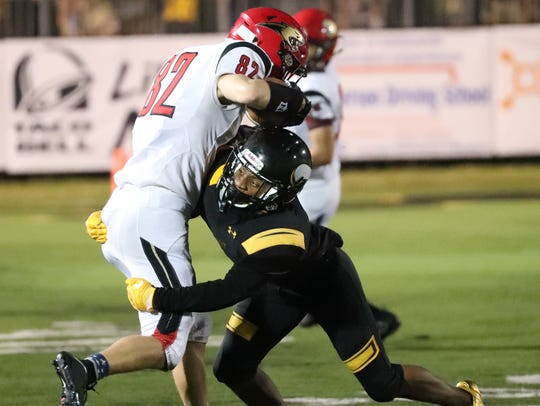 Bishop Verot High School defensive back Tequon Chatman is one of the most underrated players in Lee County heading into the 2018 season.