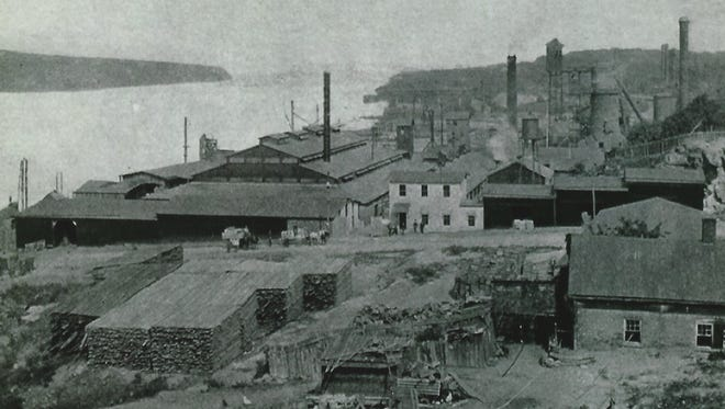 The Poughkeepsie Glass Works, located adjacent to the Hudson River and south of the Marist College Campus operated from 1880 to 1914. The property is now being developed for residential housing.