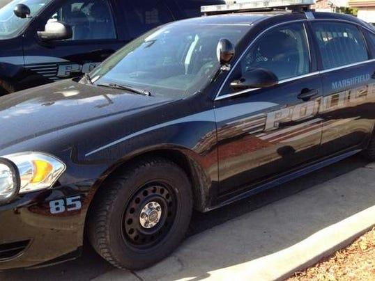 Marshfield police car