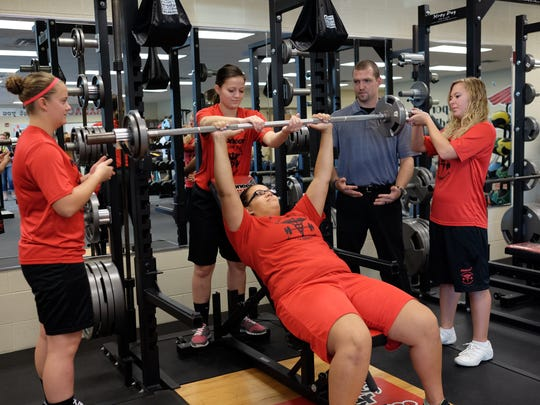 Exercise science and sports medicine students at Pioneer