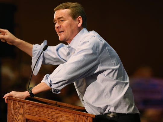 Sen. Michael Bennet, D-Colorado.