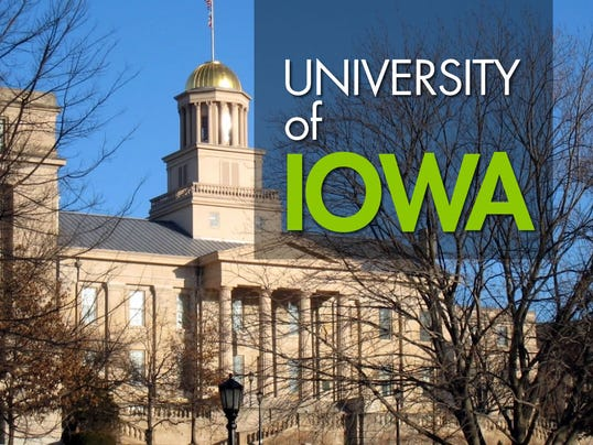 USE -- HORIZONTAL -- University of Iowa logo