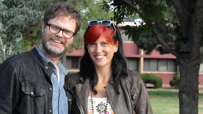 """Actor Rainn Wilson, best known for playing Dwight Schrute on hit TV show """"The Office,"""" will be part of this year's Door Kinetic Arts Festival at Bjorklunden in Baileys Harbor. Wilson will be developing a screenplay and his wife, Holiday Reinhorn, will lead a writing workshop."""