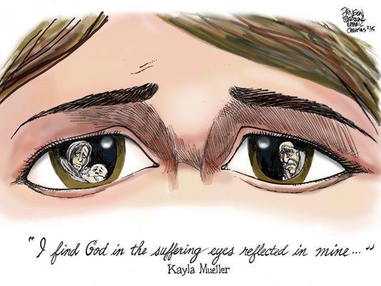 NO. 2: The world through Kayla Mueller's eyes