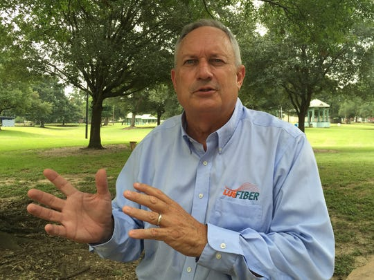 Lafayette Utilities System Director Terry Huval discusses his sudden early retirement July 19, 2018.