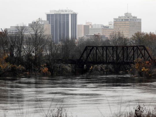 The Pearl River at Jackson