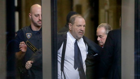 Judge scales back Harvey Weinstein civil suit, allows sex-traffic claim