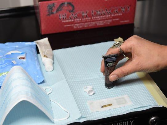 Carolina Villalón, a board-certified derma-technician