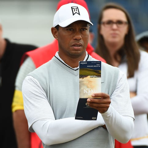 Tiger happy to be back for oldest championship in golf despite facing beastly Carnoustie