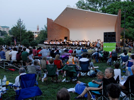 Check out the Symphony in the Park concerts around