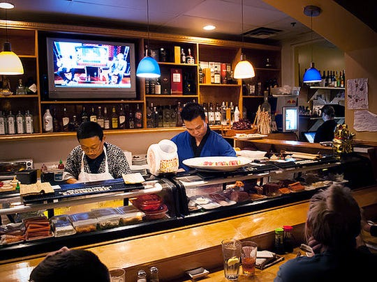 If you're in the mood for sushi, Koi's comprehensive selection does not disappoint.