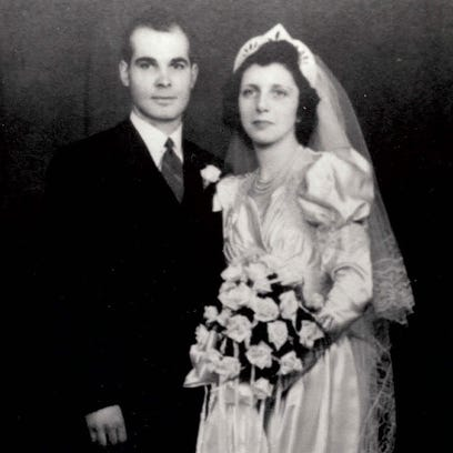 Married for 73 years, Joe and Helen Auer, of East Price