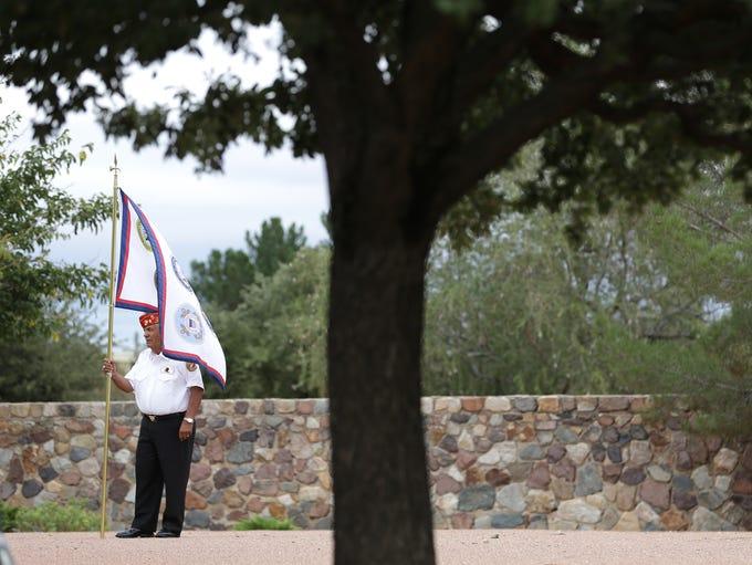 The El Paso Marine Honor Unit performs their duties