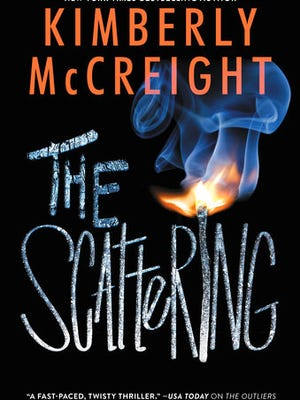 """This cover image released by Harper Teen shows, """"The Scattering,"""" by Kimberly McCreight."""