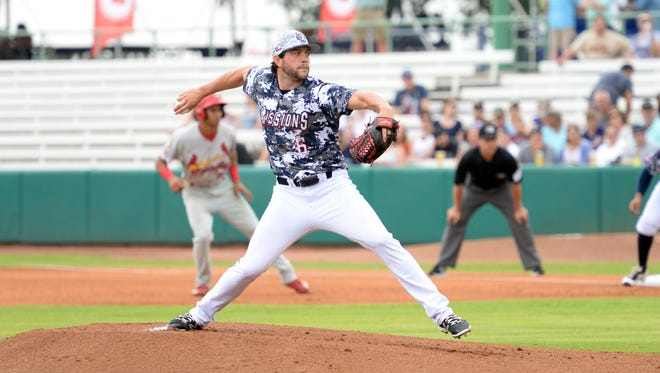 Chris Huffman is 4-3 with a 2.91 ERA in nine starts with the San Antonio Missions, the San Diego Padres' Class AA franchise in the Texas League.