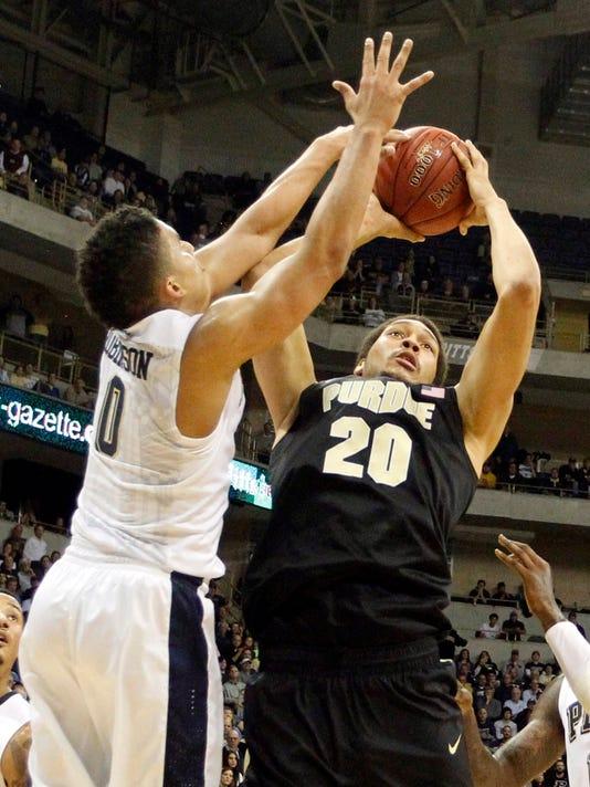 NCAA Basketball: Purdue at Pittsburgh