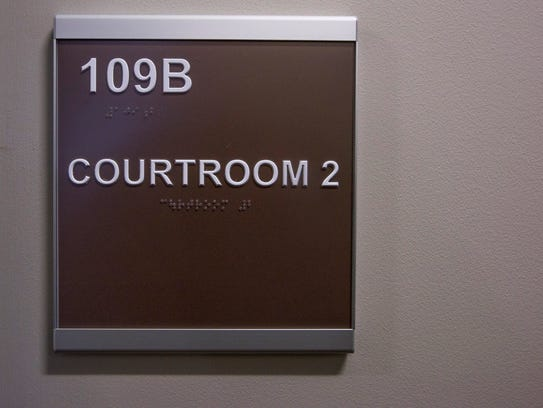 There are two courtrooms in the new Montgomery Municipal
