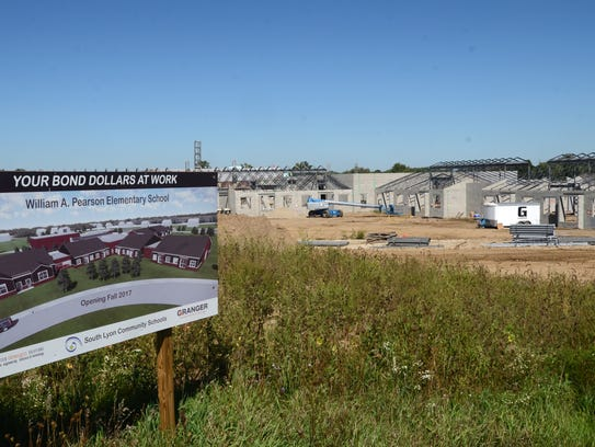 Work continues on Lyon Township's William A. Pearson
