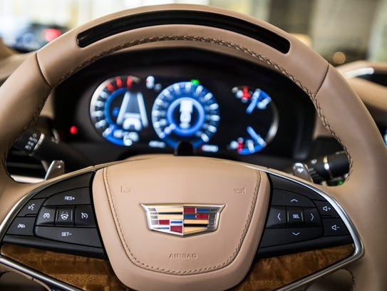 First drive cadillac reinvents driving with hands free for General motors washington dc