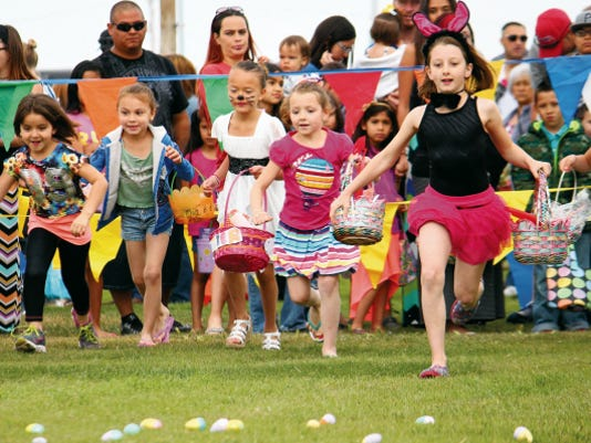 Alameda Park Easter Egg Hunt