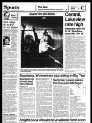 Battle Creek Sports History: Week of Jan. 5, 1987