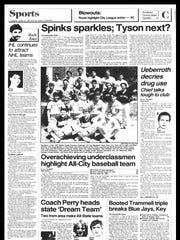 Battle Creek Sports History - Week of June 18, 1987