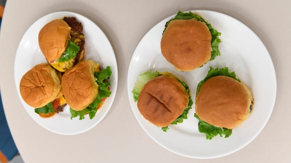 Can you tell the difference? Our homemade Shack Burgers