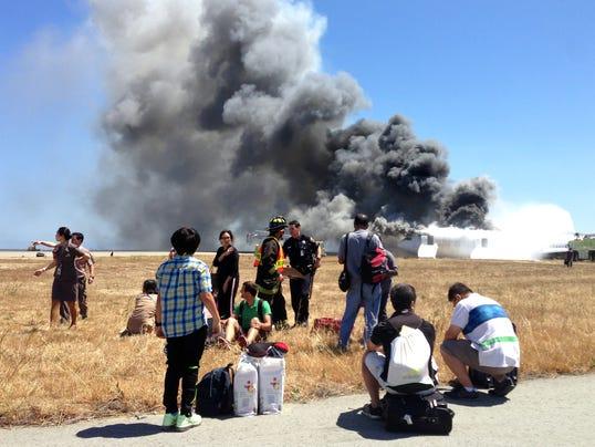 San Francisco Asiana Airliner Crash