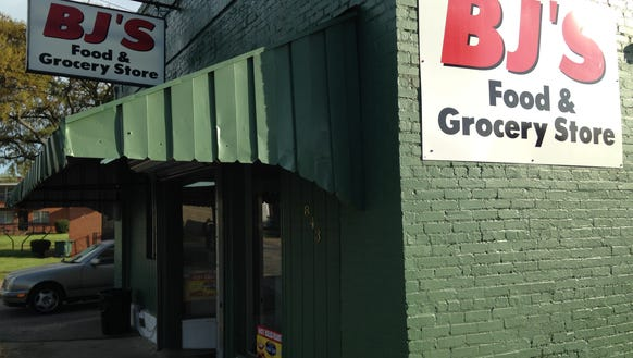 BJ's Food & Grocery Store opened about a week ago on