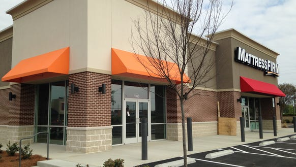 The AT&T Store will open next to Mattress Firm in front